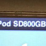 iPodの内蔵HDDをSDカードに変えてみた+α